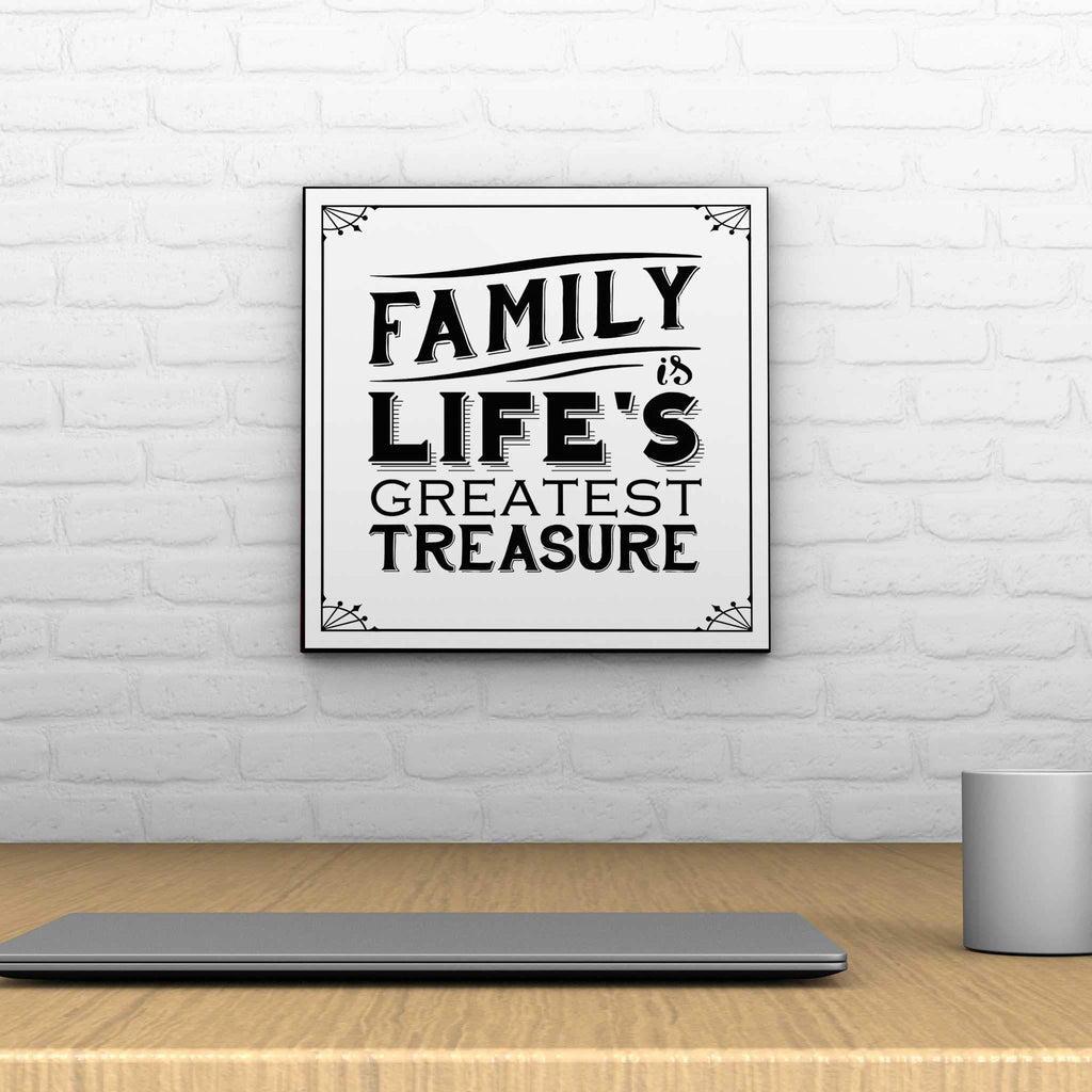 Family Is Life Decoposter