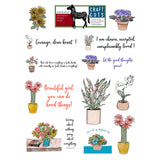 Good Thoughts Grow Printable Craft Cuts