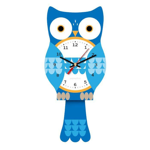 Owl Johnson Clock