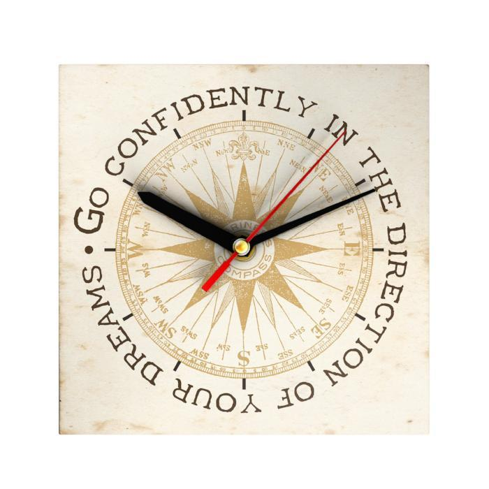 Go Confidently Clock