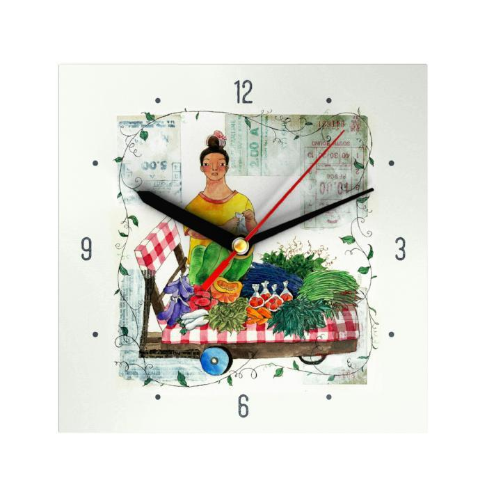 Vegetable Vendor Clock