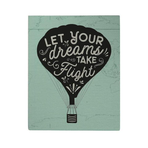 Let Your Dreams Take Flight Canvas Poster