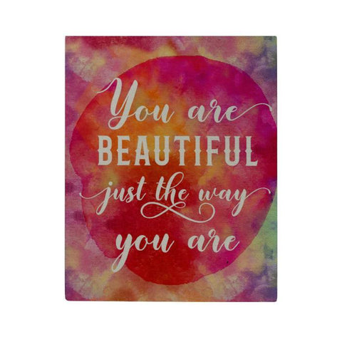 You Are Beautiful Canvas Poster