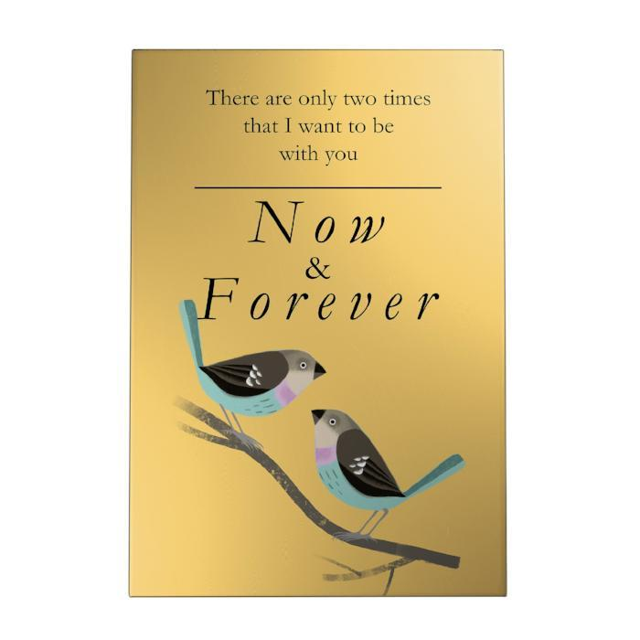 Now and Forever Decoposter