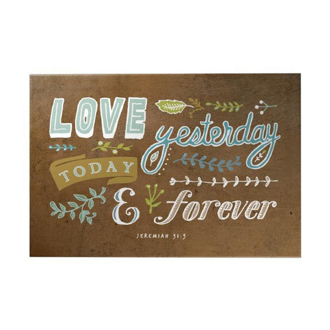 Love Yesterday Decoposter