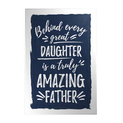 Amazing Father Decoposter: Daughter