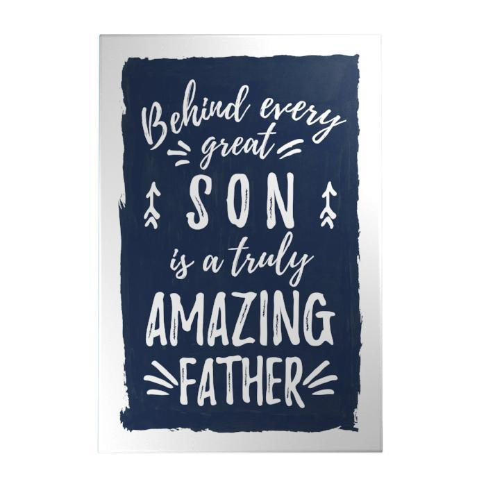 Amazing Father Decoposter: Son