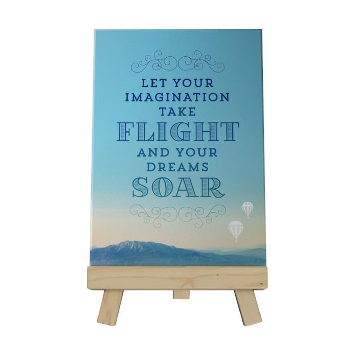 Let Your Imagination Decoposter