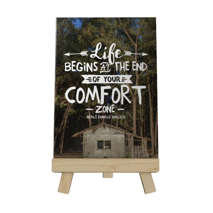 Life Begins at the End Decoposter