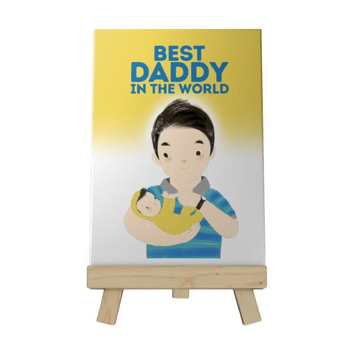 Best Daddy in the World Decoposter
