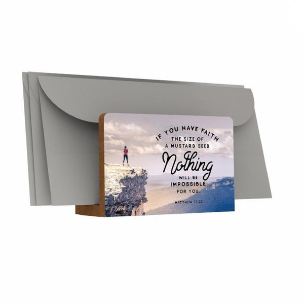 If You Have Faith Letter Holder