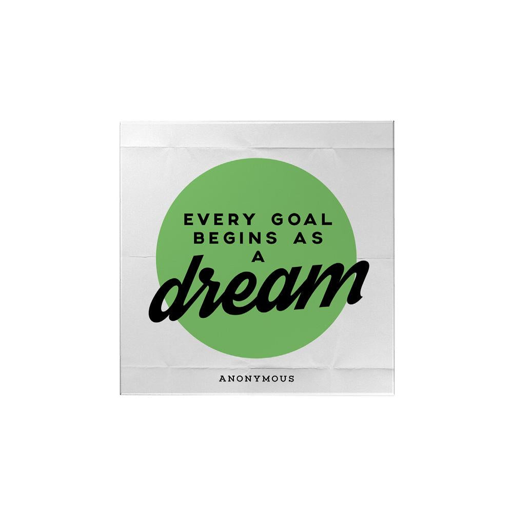 Every Goals Begin as a Dream Magnet