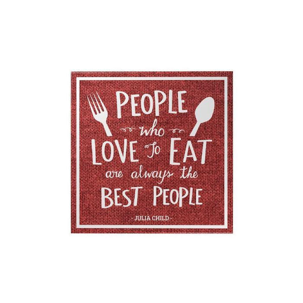 People Who Love To Eat Magnet