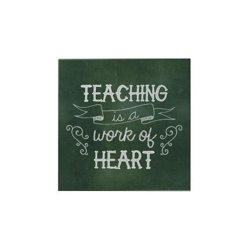 Teaching Is a Work Square Magnet