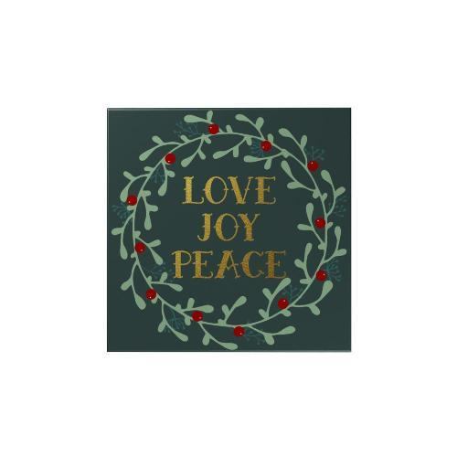 Love Joy Peace Magnet