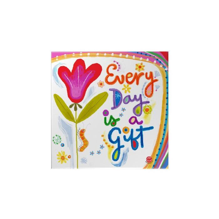 Every Day Is a Gift Magnet: Flower