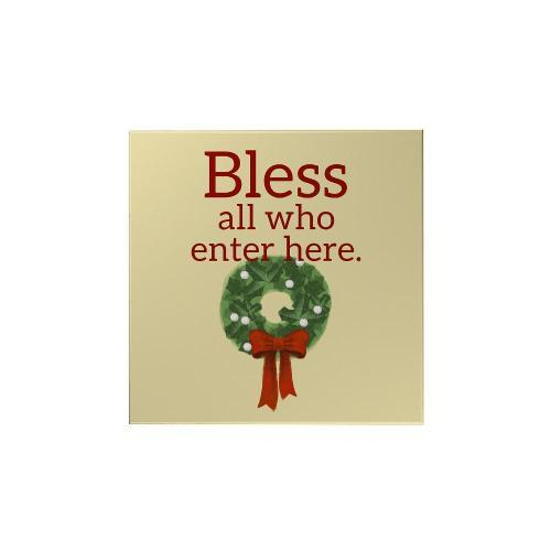 Bless All Who Enter Magnet