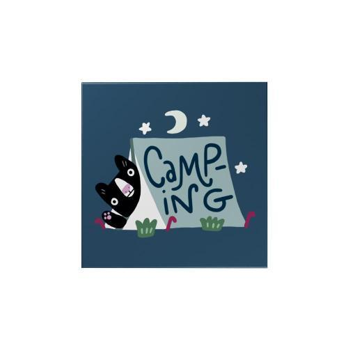 Activities Camping Magnet