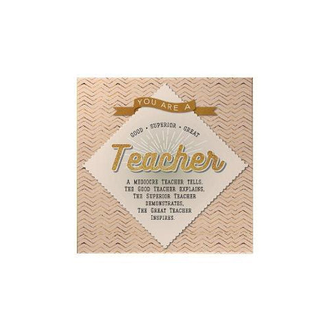 You Are a Teacher Square Magnet