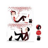 You and Me Desk Magnet Board