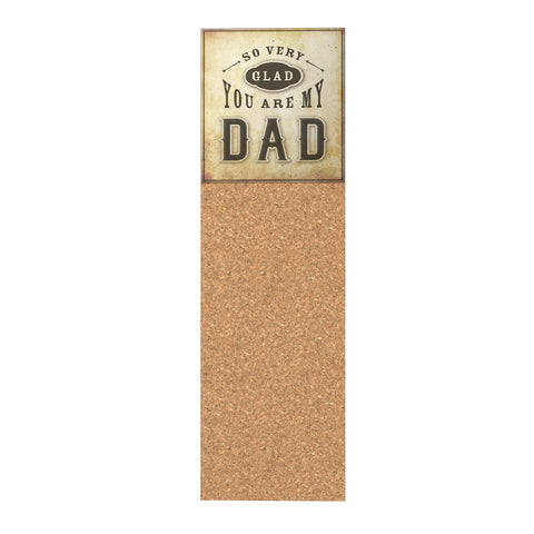 So Very Glad You Are My Dad Corkboard