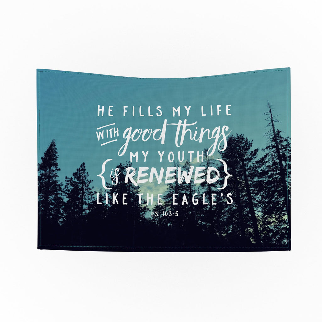 He Fills My Life Tapestry