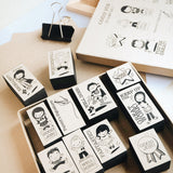 Good Job Rubber Stamp Set