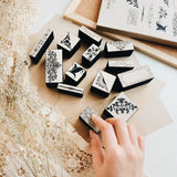 Scrapbooking Rubber Stamp Set
