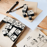 Kids Rubber Stamp Set