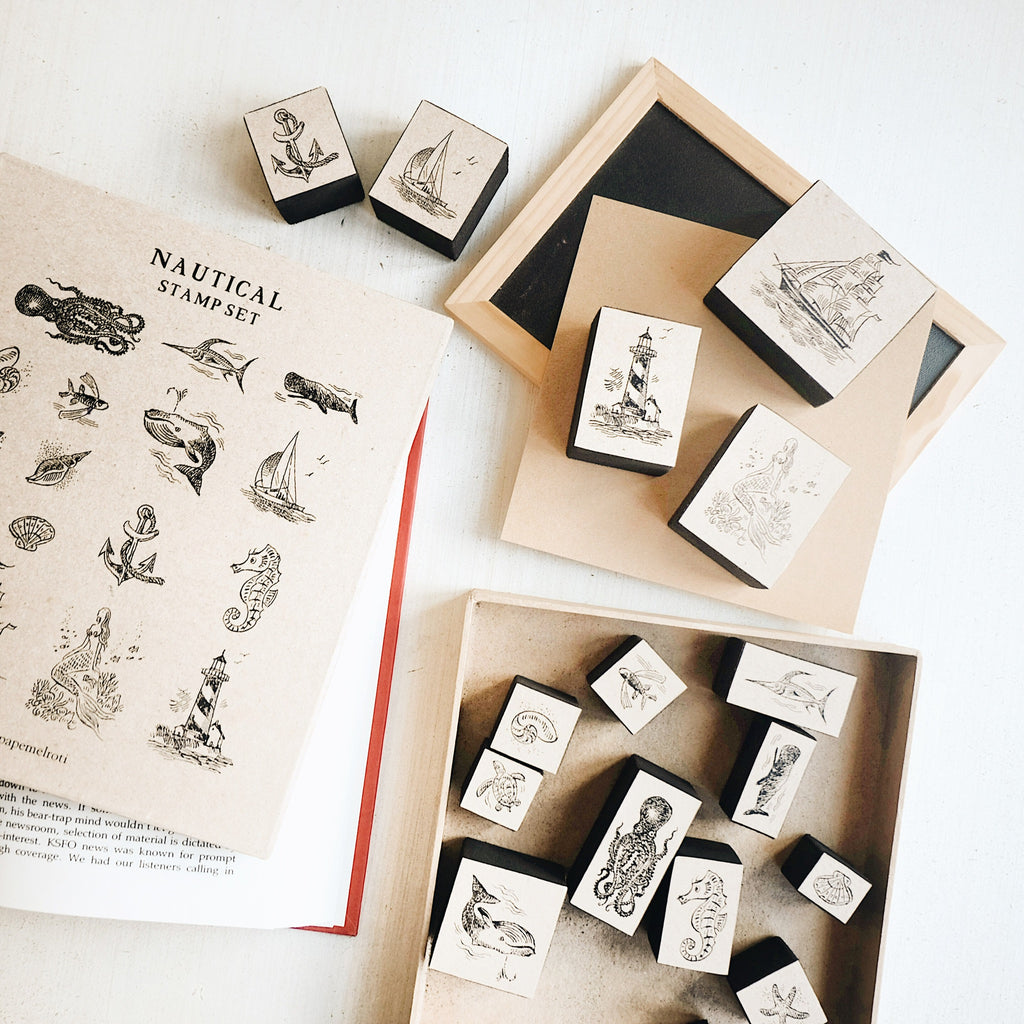 Nautical Rubber Stamp Set