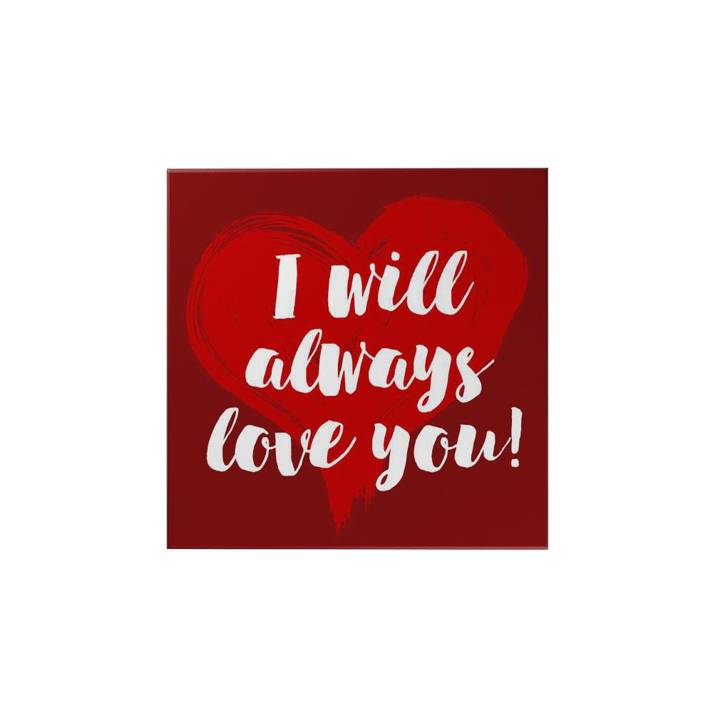 i will always love you original ref magnet papemelroti