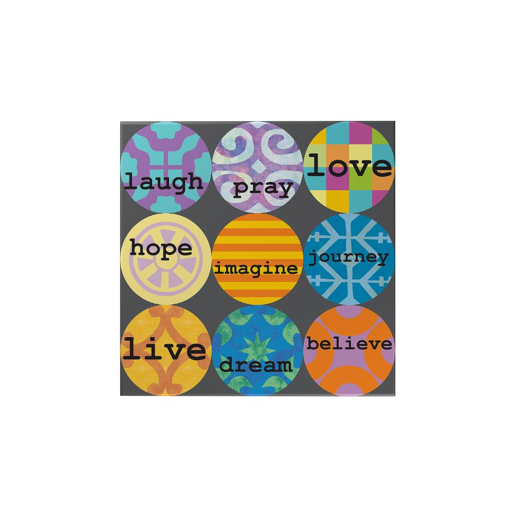 Laugh Pray Love Magnet