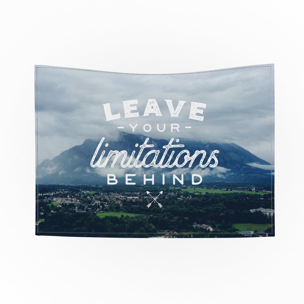 Leave Your Limitations Tapestry