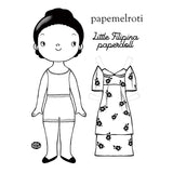 Little Filipina Paper Doll Set
