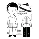 Little Filipino Paper Doll Set