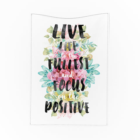 Live Life to the Fullest Tapestry