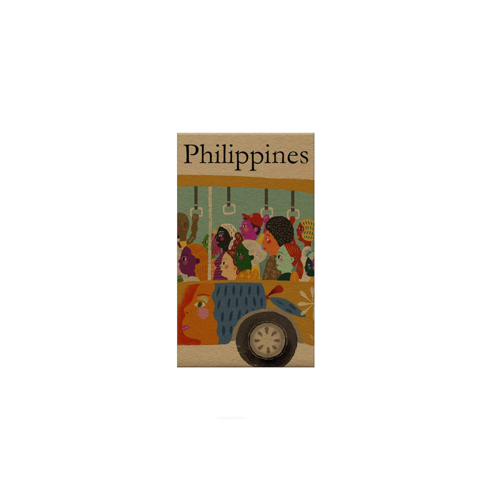 Philippines: Bus Magnetic Bookmark