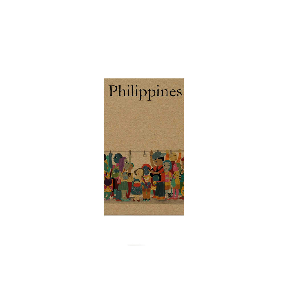 Philippines: Train Magnetic Bookmark