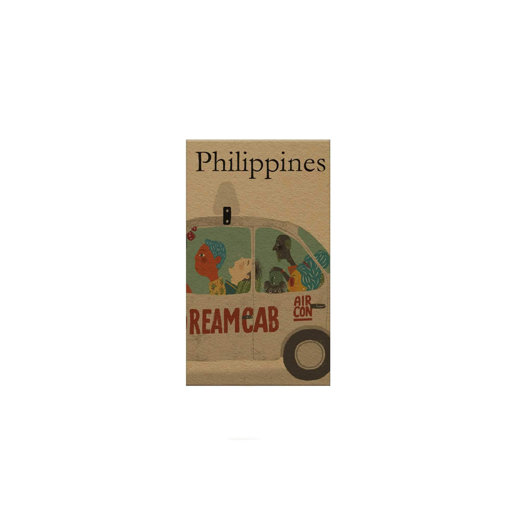 Philippines: Dreamcab Magnetic Bookmark