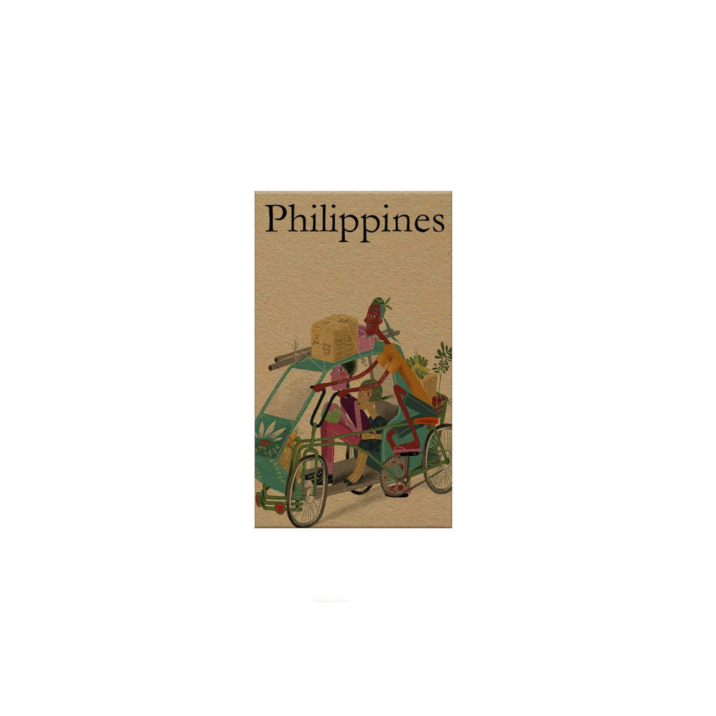 Philippines: Pedicab Magnetic Bookmark
