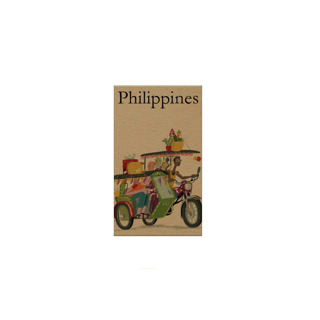 Philippines: Tricycle Magnetic Bookmark