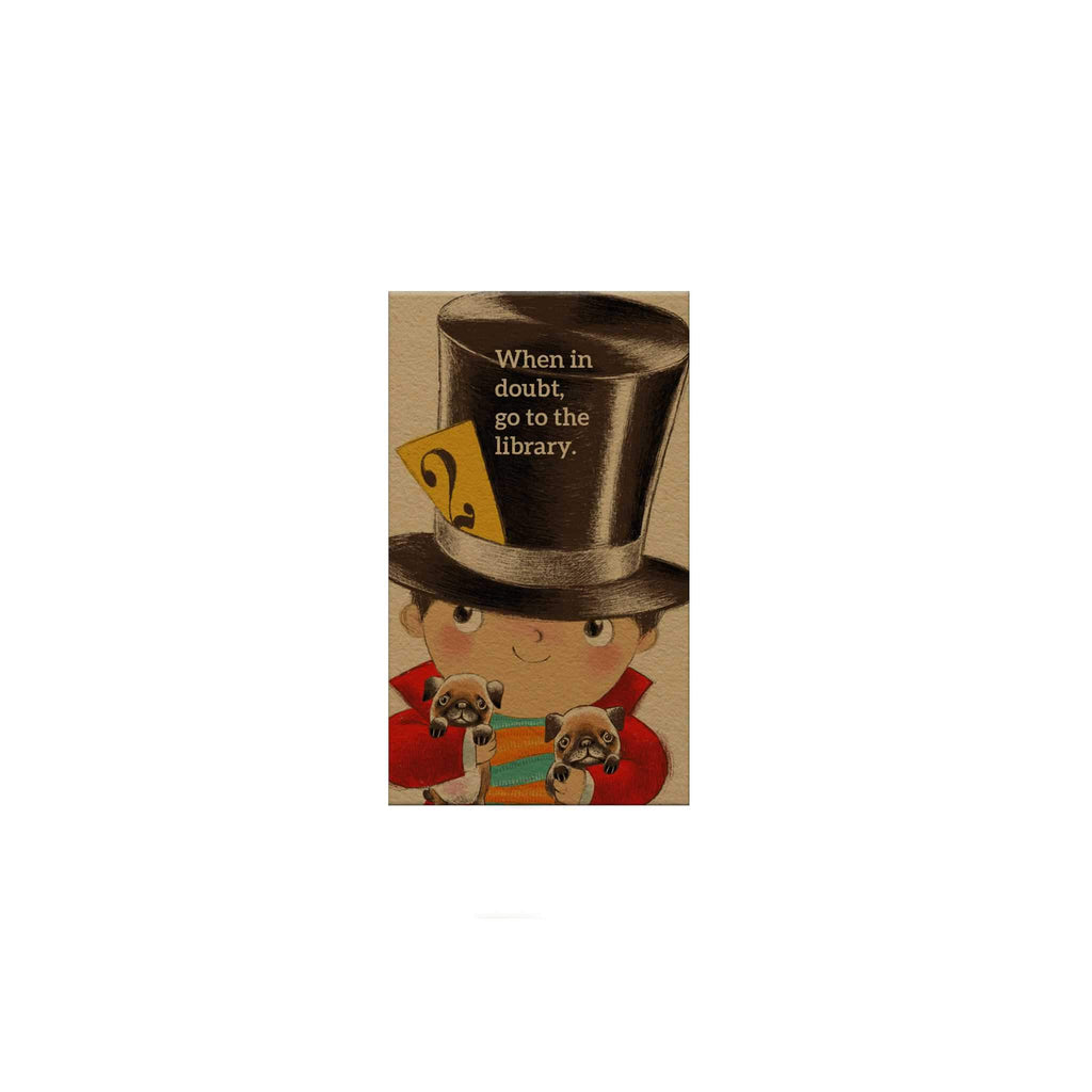 Little Top Hat Magnetic Bookmark