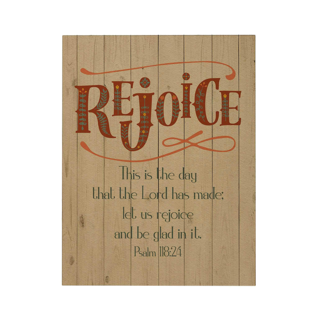 Rejoice Greeting Card