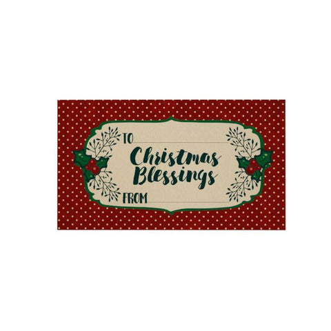 Christmas Blessings Gift Cards