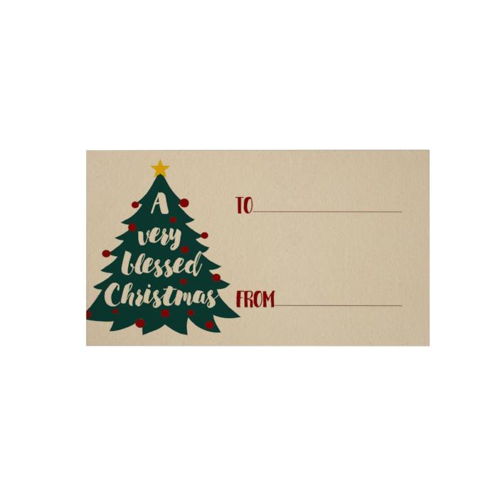 A Very Blessed Christmas Gift Cards Papemelroti