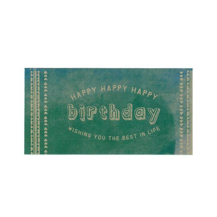 Happy Birthday Money Envelopes