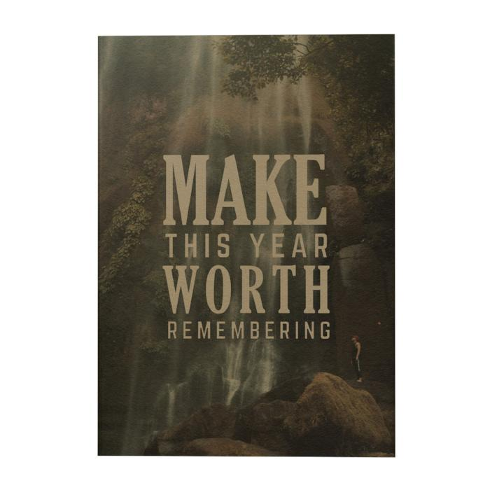 Make This Year Worth Remembering Art Journal