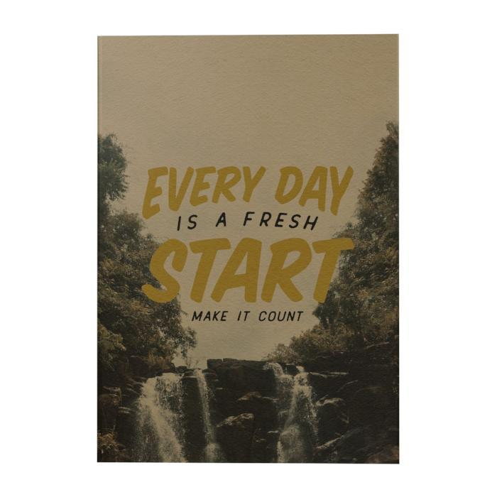 Every Day Is a Fresh Start Art Journal