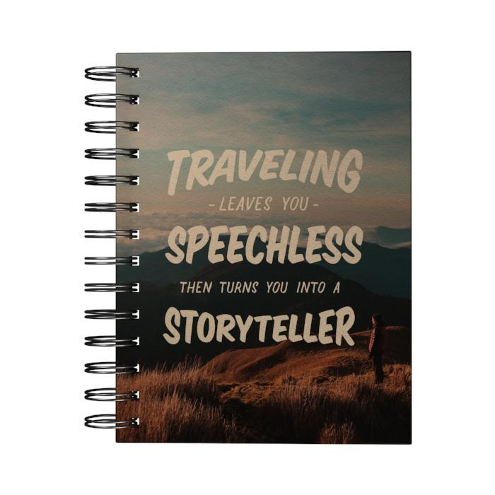 Traveling Leaves You Speechless Journal