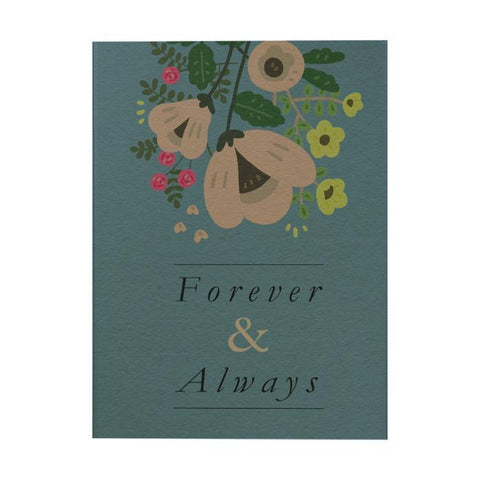 Forever and Always Notebook: Small